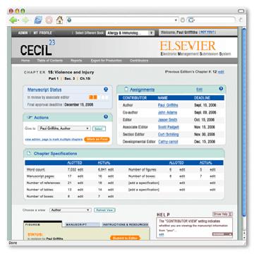 The Cecil Manuscript Management System